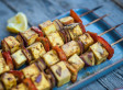 Easy BBQ Recipes: Jerk Turkey Steaks, Sticky Ribs, Paneer Skewers and Barbecued Vegetable Pizza