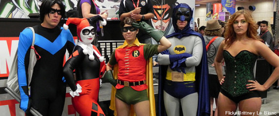 comicon san diego séries