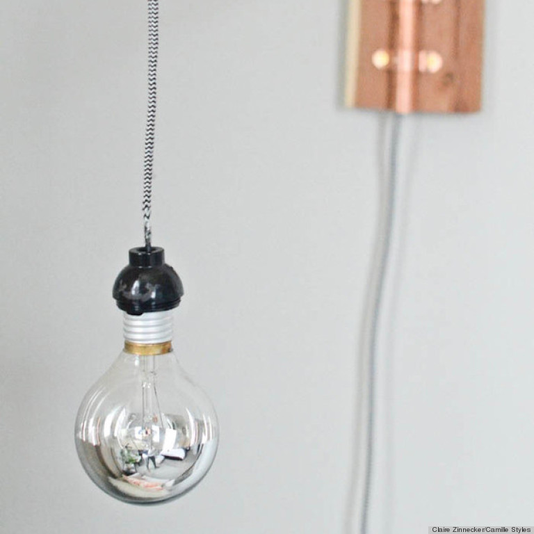 diy wall sconce & A DIY Wall Sconce Made From Copper Pipes Is The Perfect Industrial ...