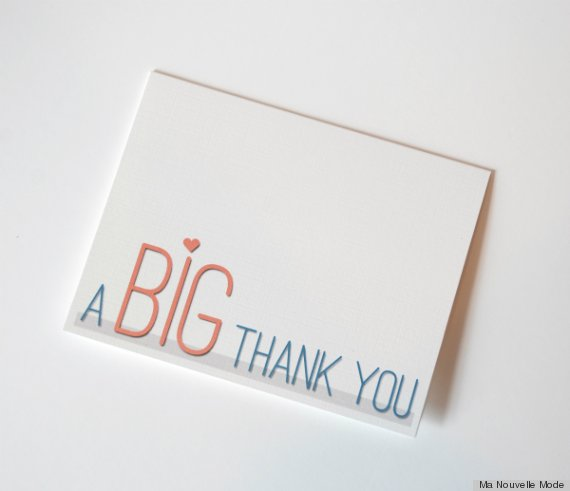 Free Printable Thank You Cards Because Sending An Email IsnT