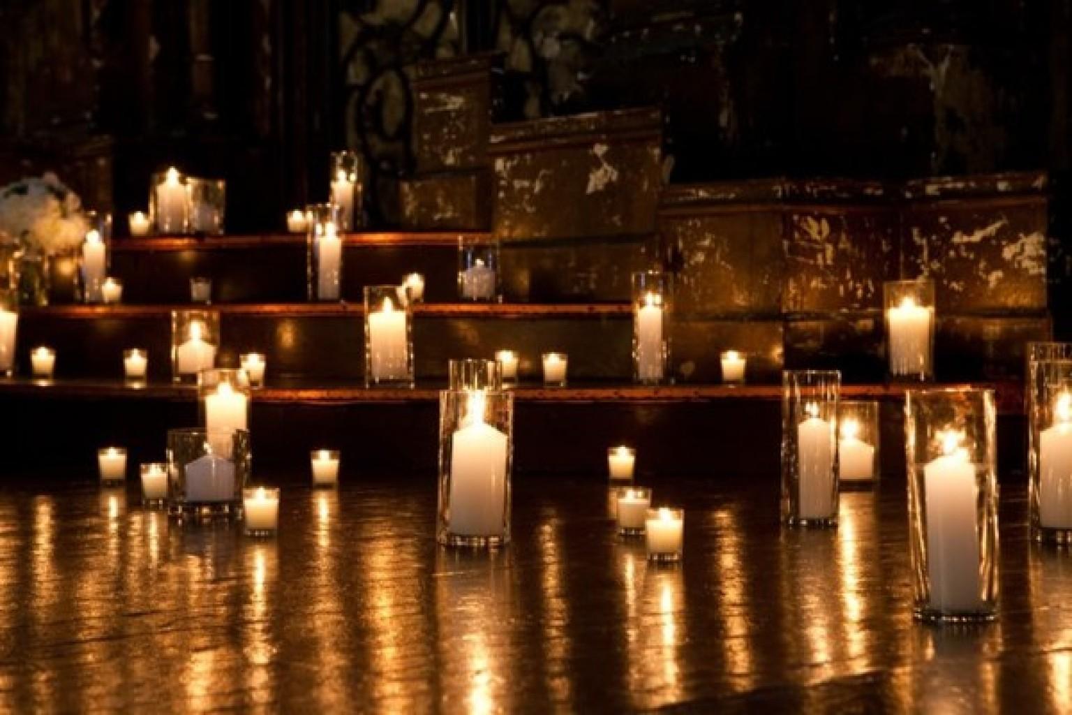 Candlelight Wedding Ideas For Romantic Ceremonies PHOTOS HuffPost