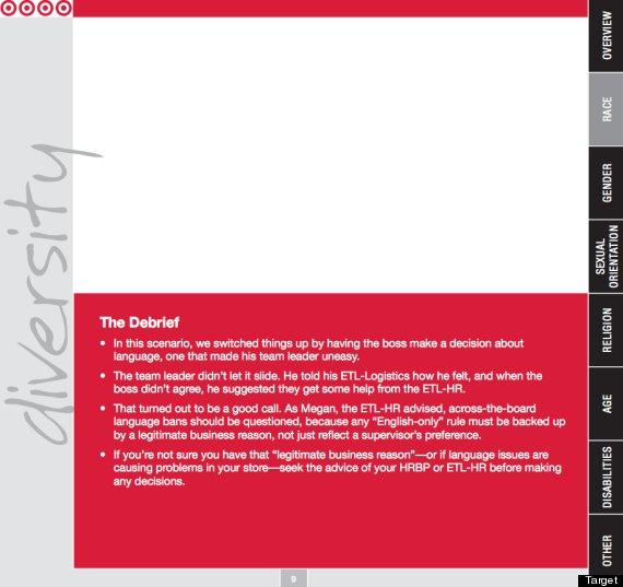target diversity document