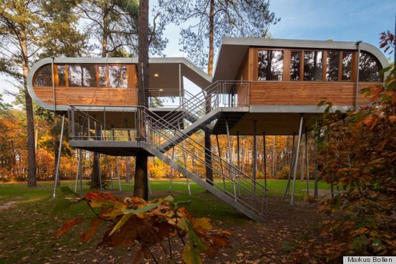 the 8 most amazing treehouses in the world, including one that