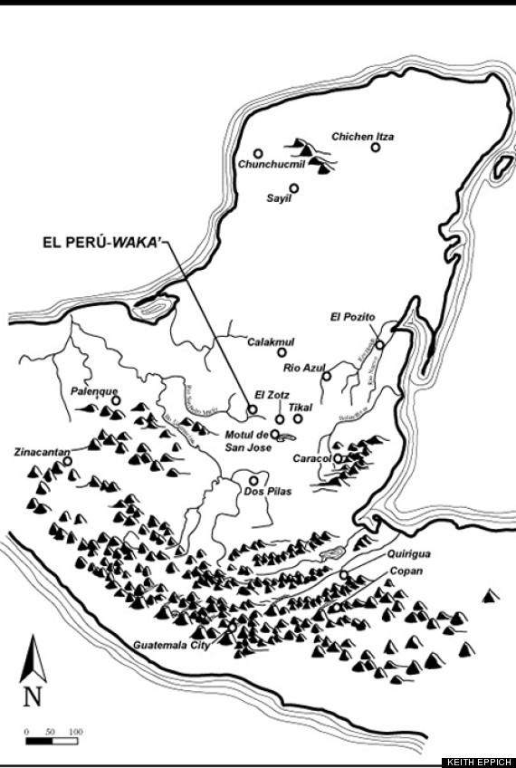 maya world map