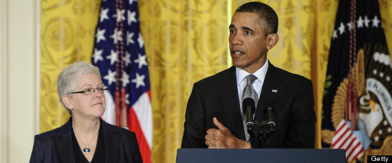 President Obama and EPA Administrator Gina McCarthy.