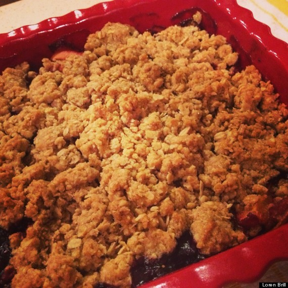 Summer Very Berry Crumble | The Huffington Post