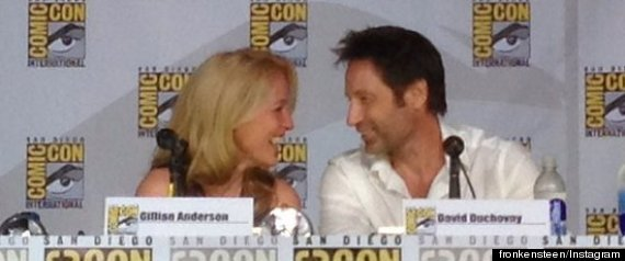 x files reunion comic con
