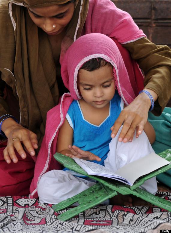 indian muslim child
