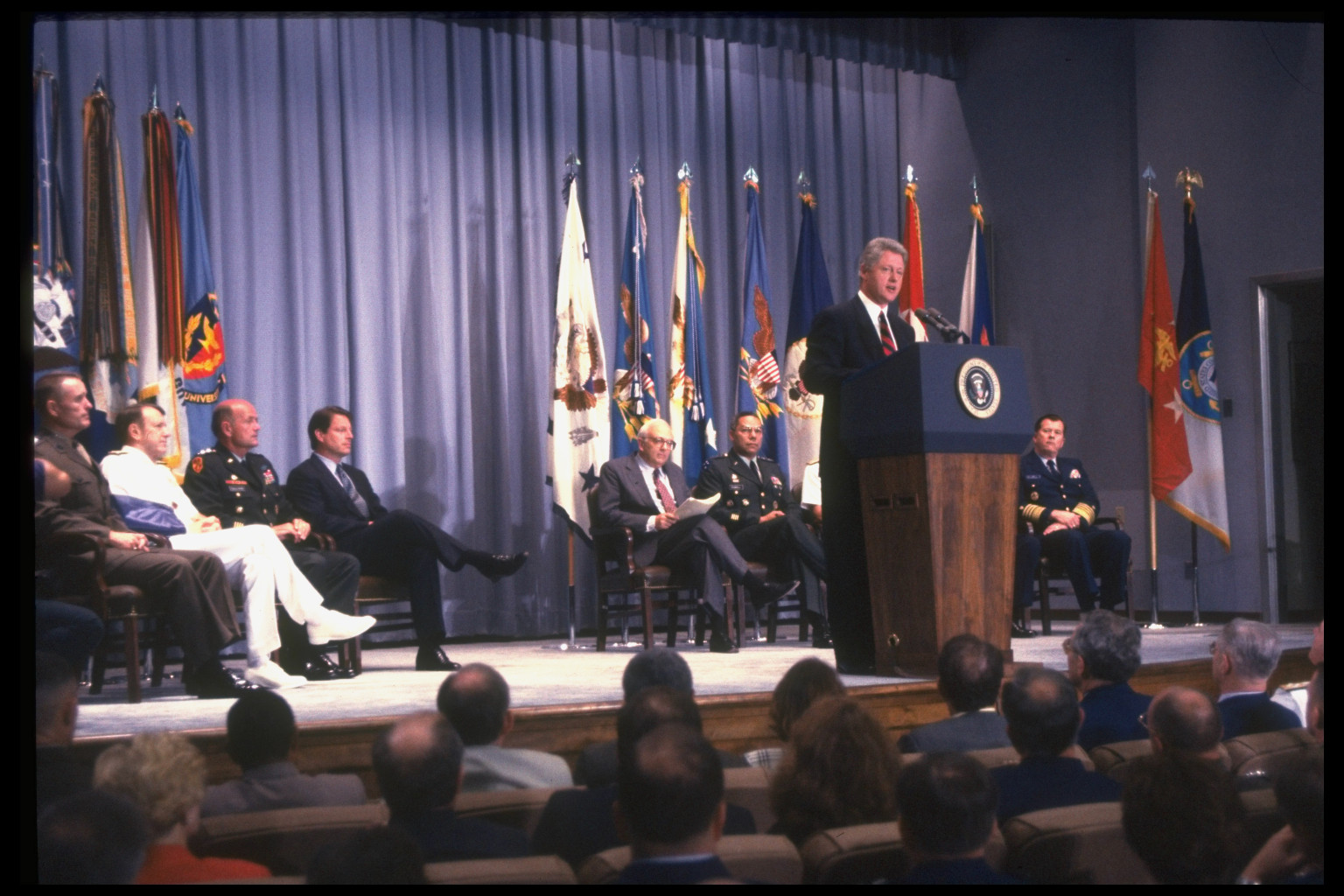 bill clintons dadt 1992 – during his presidential campaign, governor bill clinton promises that, if  elected, he would allow  the dadt digital archive project.