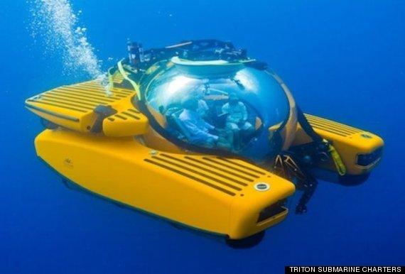 luxury submarine company