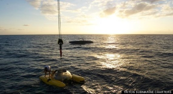 triton submarine charters