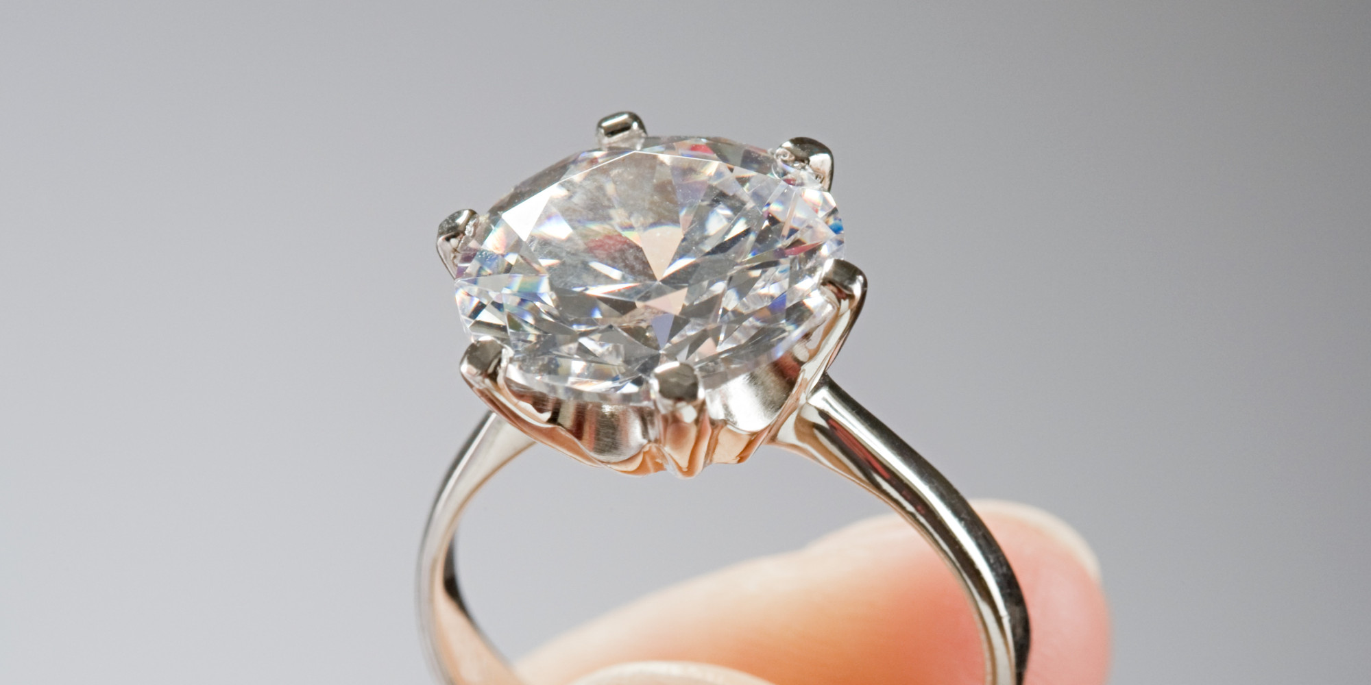 Your Engagement Ring Belongs on Your Left Ring Finger Not in Your