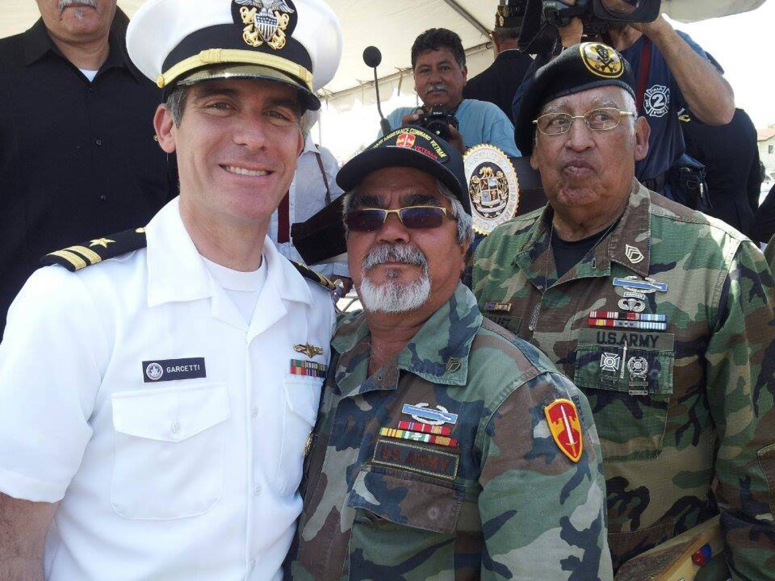 l a  mayor eric garcetti to spend weekend on navy reserve