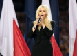 Christina Aguilera's National Anthem Performance Ranked The Most Cringeworthy Rendition In New Poll