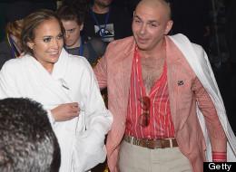 JLo después de la 'mojada' con Pitbull (FOTOS)