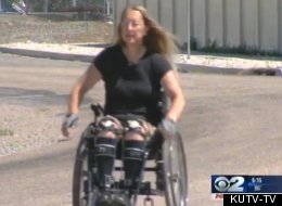 WATCH: She's Not Disabled, But Wants To Be
