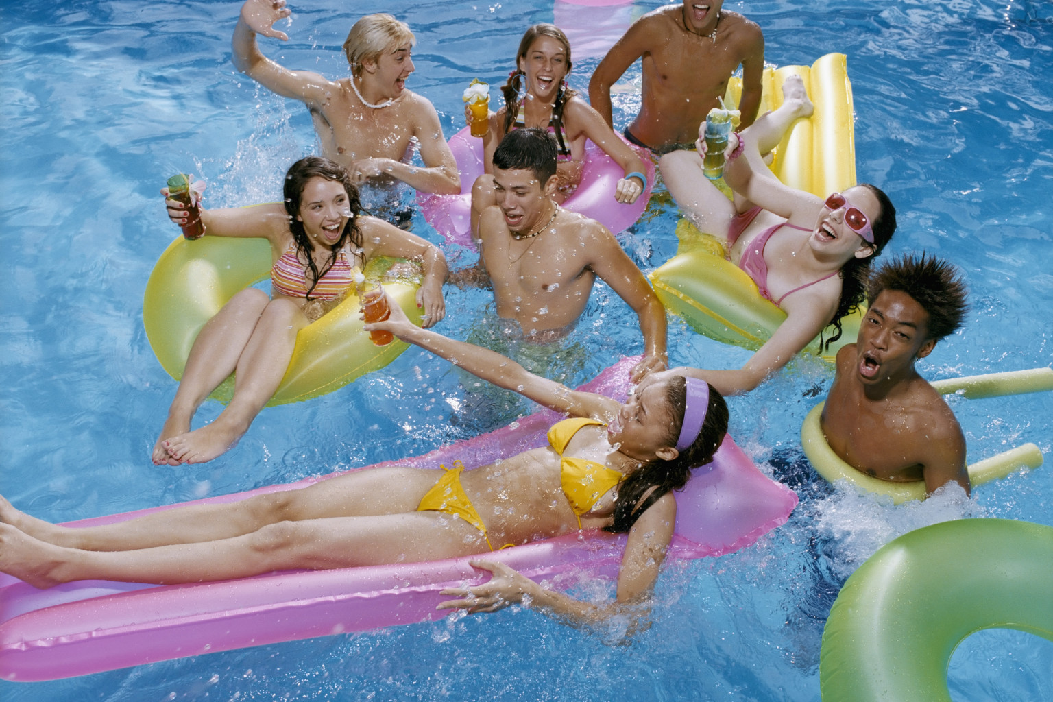 15 ways you know you go to private school in la photos - How to make a pool party ...