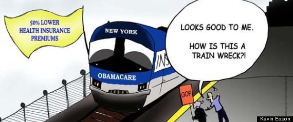 NEW YORK OBAMACARE