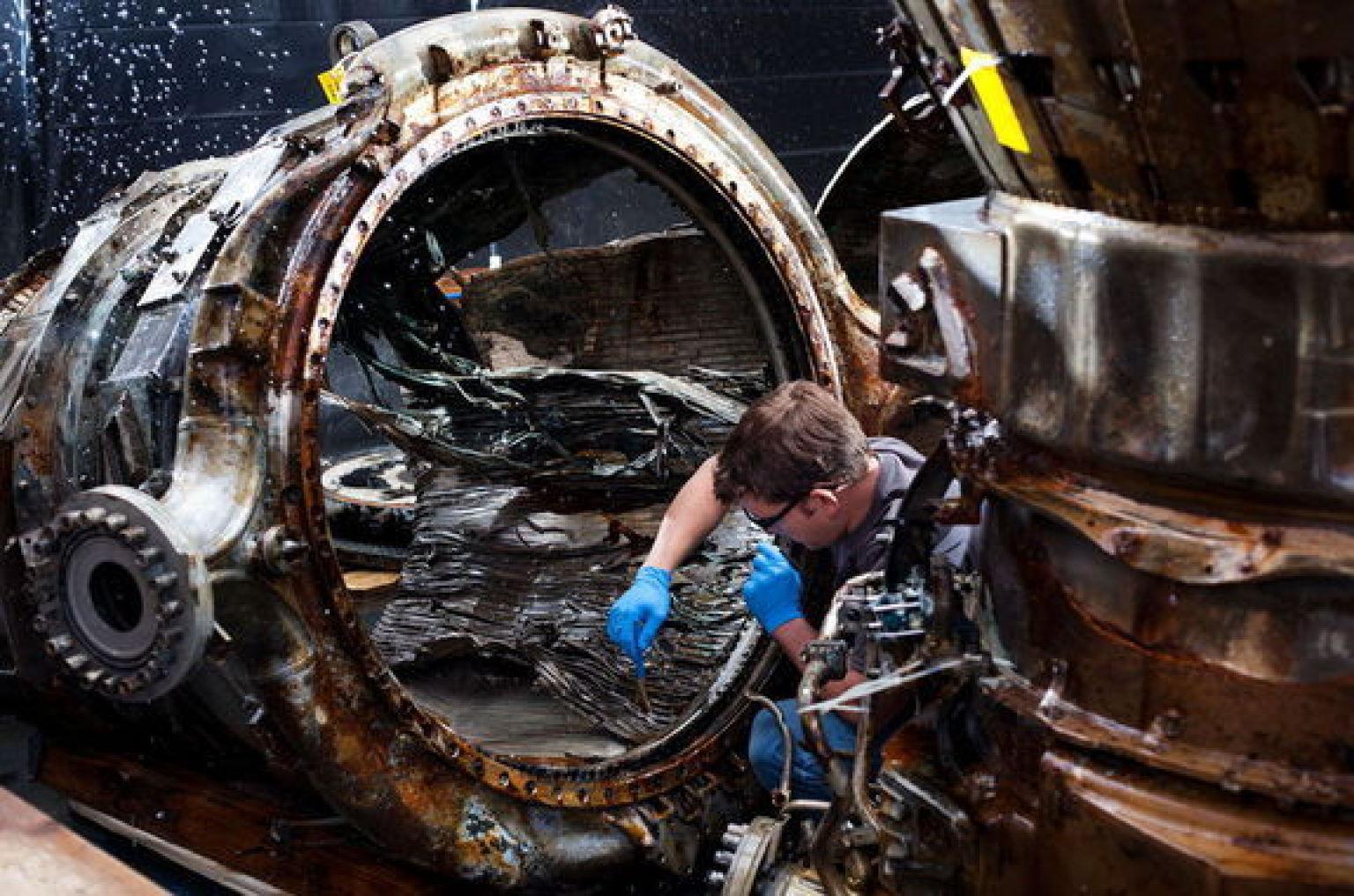 Apollo 11 Rocket Engine Part Recovered, Confirms Amazon ...