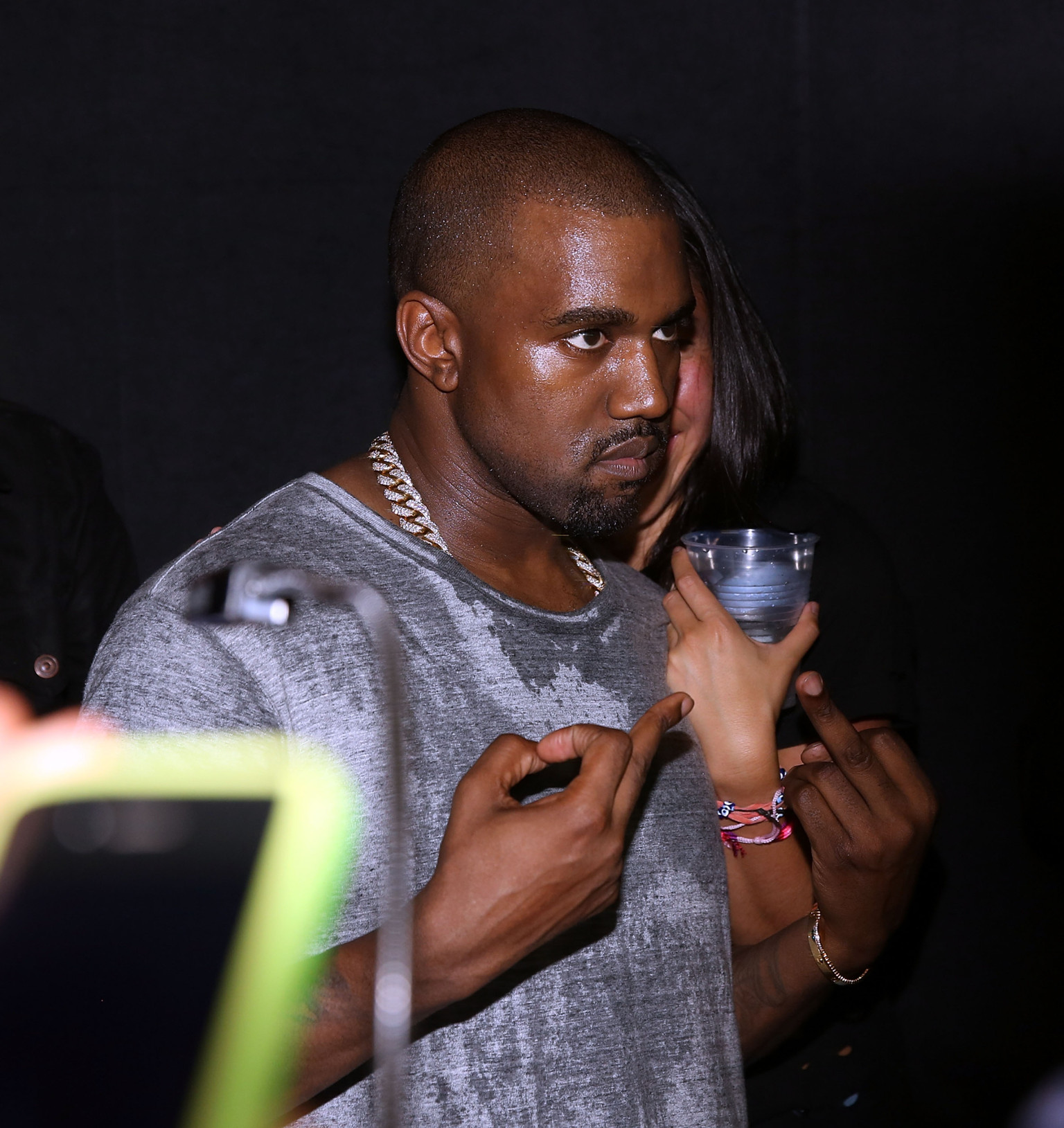 Kanye West Face After Car Accident | www.galleryhip.com - The Hippest ...