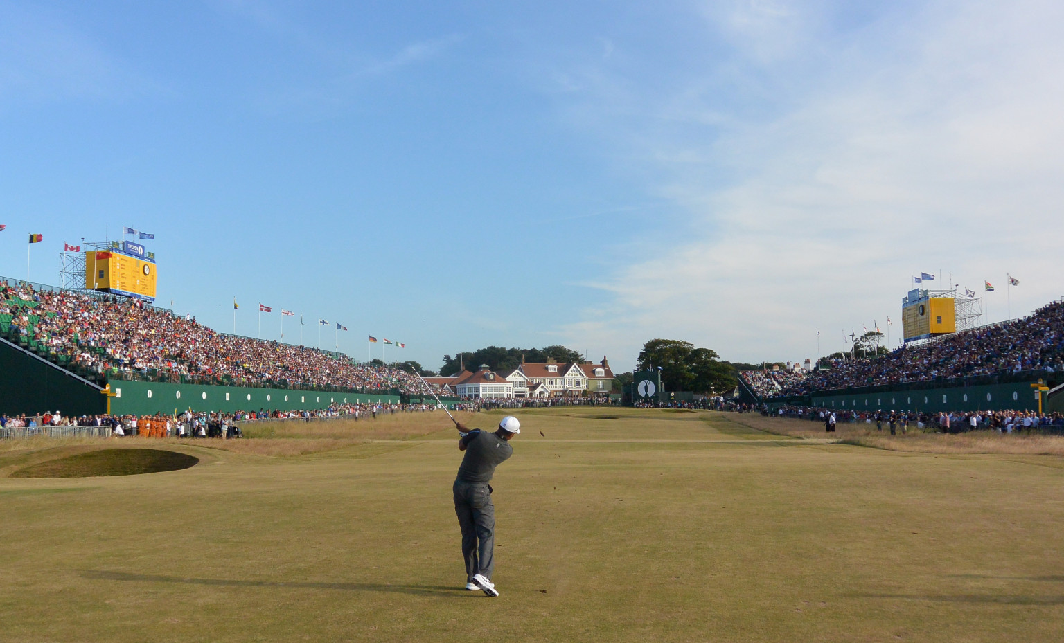 tiger woods u0026 39  british open strategy prioritizes safe play