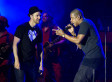 Jay Z And Justin Timberlake Honor Trayvon Martin At Legends Of The Summer New York City Stop