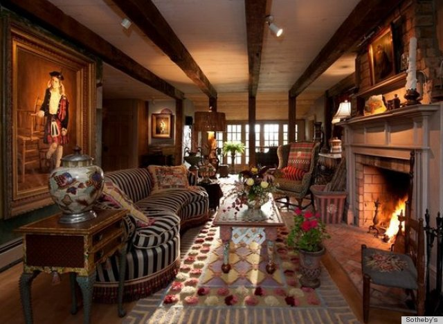 Mackenzie Childs Farmhouse In The Finger Lakes Is As