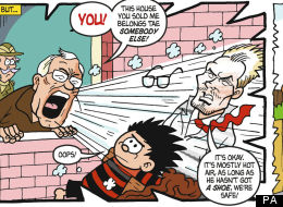 The Hairdryer Hits The Beano