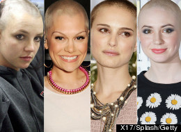 PICS: 20 Female Celebs Who Have Shaved Off Their Hair
