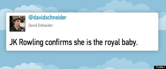 funniest royal baby tweets