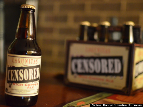 censored beer