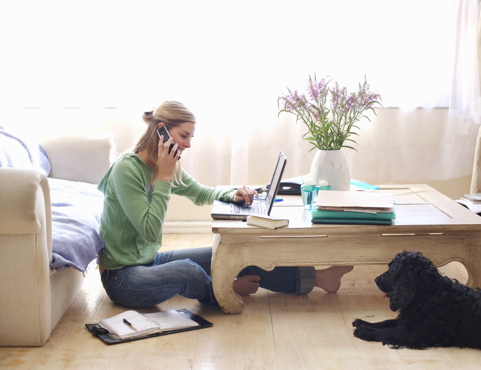 working woman office casa desde flexible em trabajo teletravail internet business por trabajar da el job teleworking od jobs gana