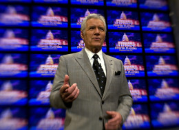 Alex Trebek Raps Jeopardy