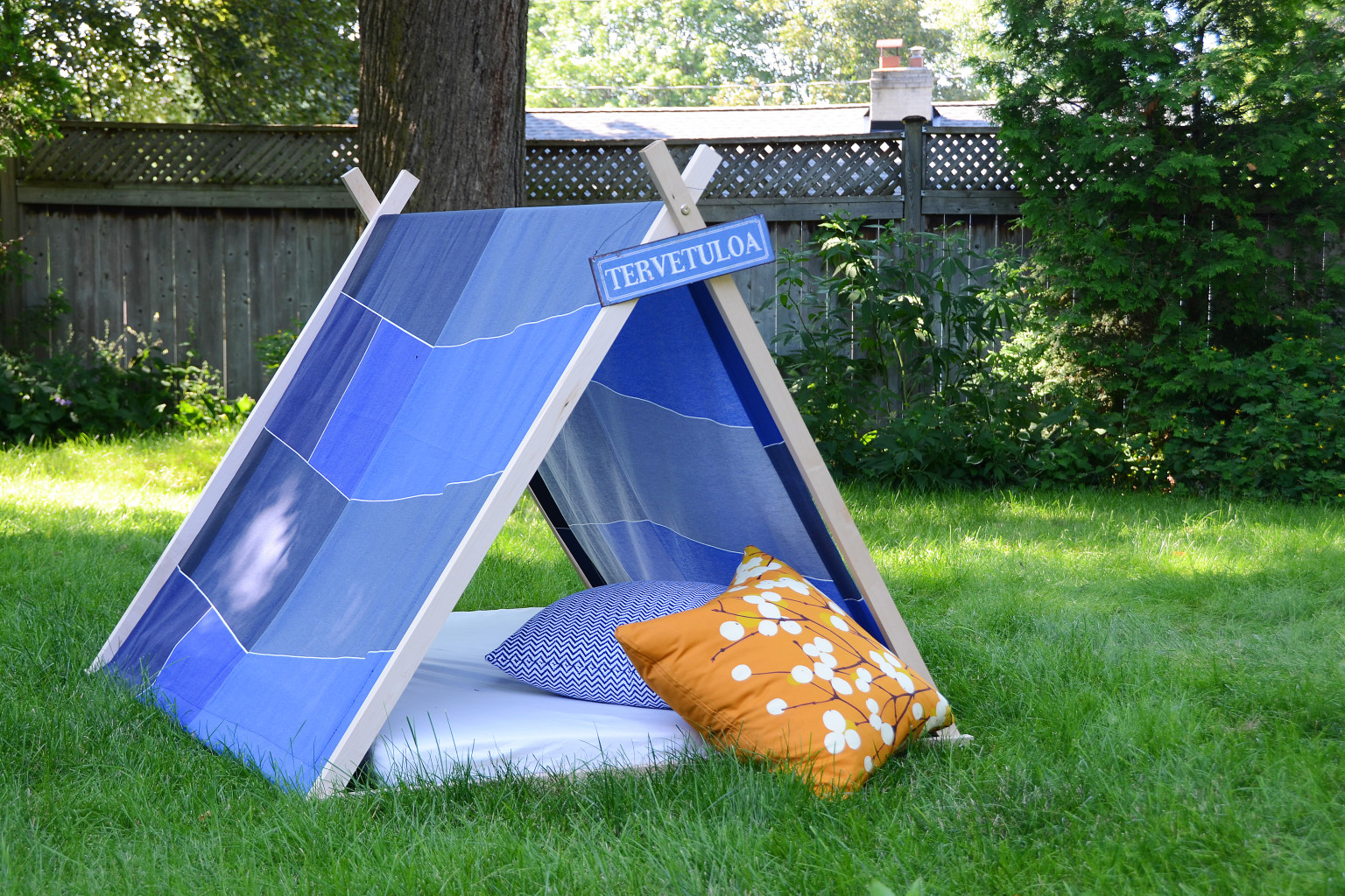 this diy tent is perfect for campers who don 39 t exactly