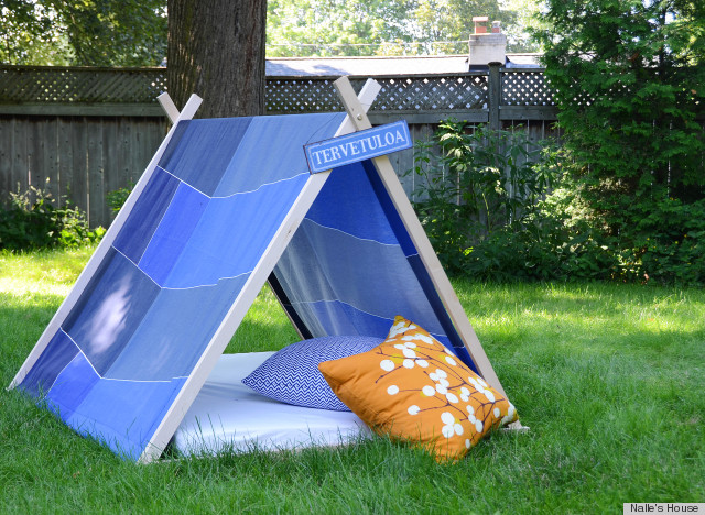 See this project featured on 4 Men 1 Lady and be sure to head over to Nalleu0027s House for more information. And in the meantime avoid these DIY projects. & This DIY Tent Is Perfect For Campers Who Donu0027t Exactly Like ...