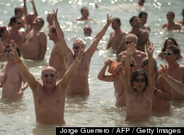 NSFW PHOTOS: Skinny Dipping World Record Attempt