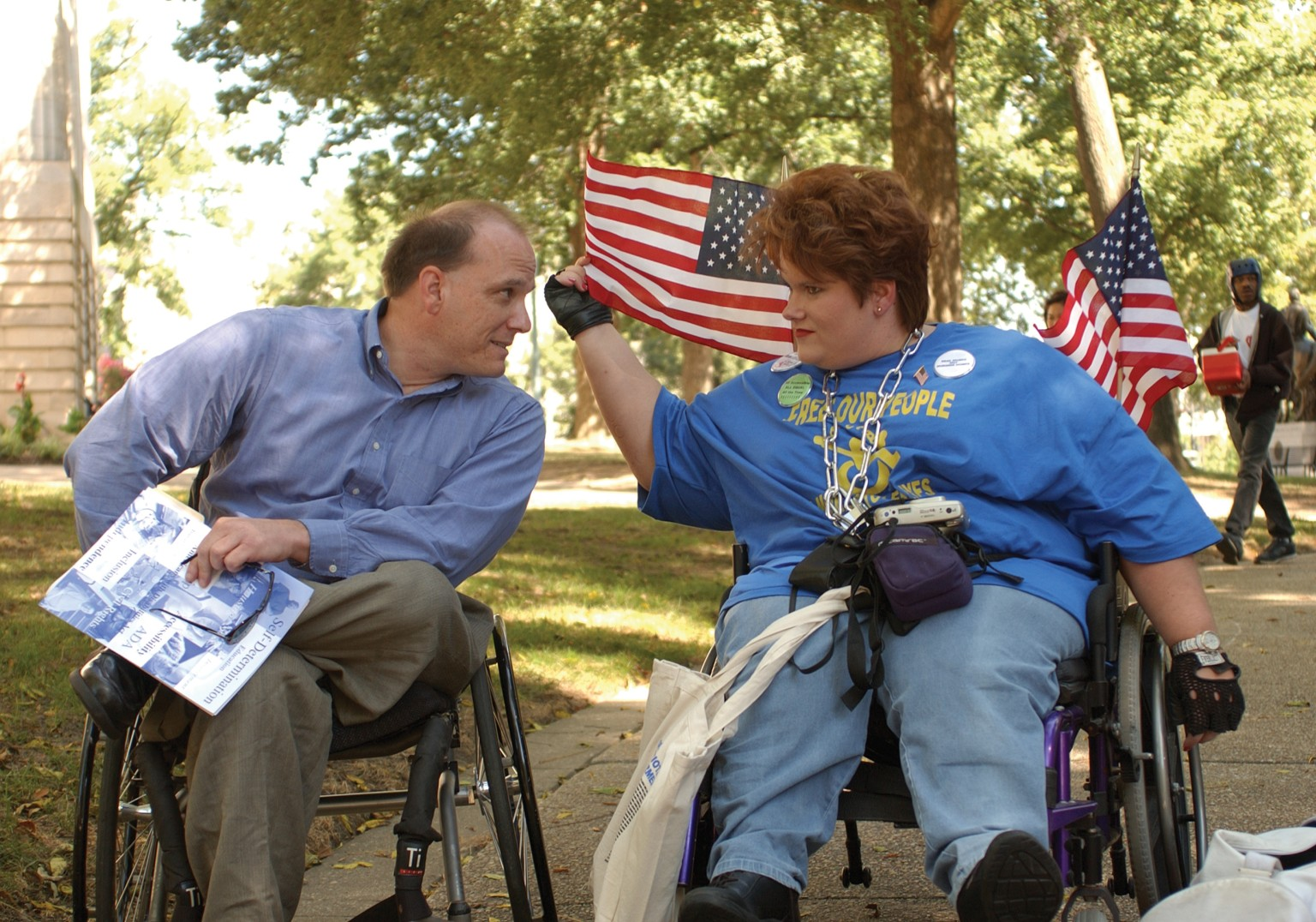 People with disabilities and the advocates