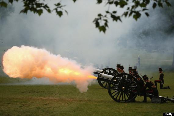 royal baby gun salute
