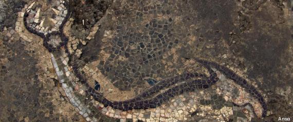 scoperto mosaico calabria