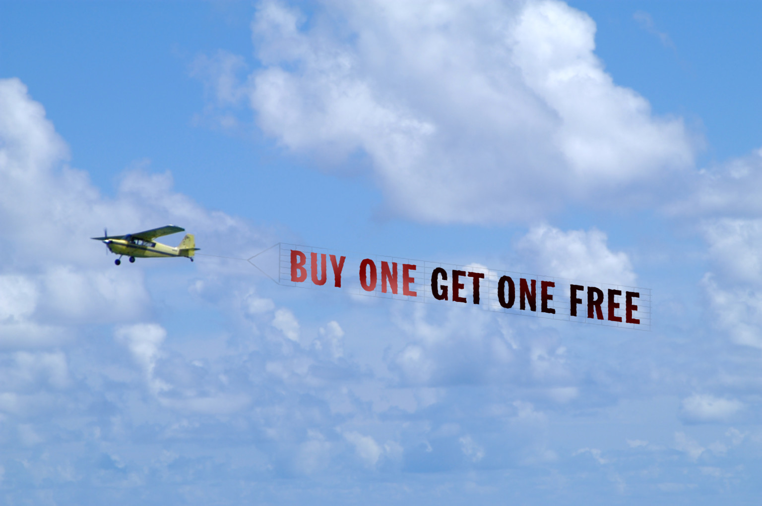 Airplane Banner Advertising