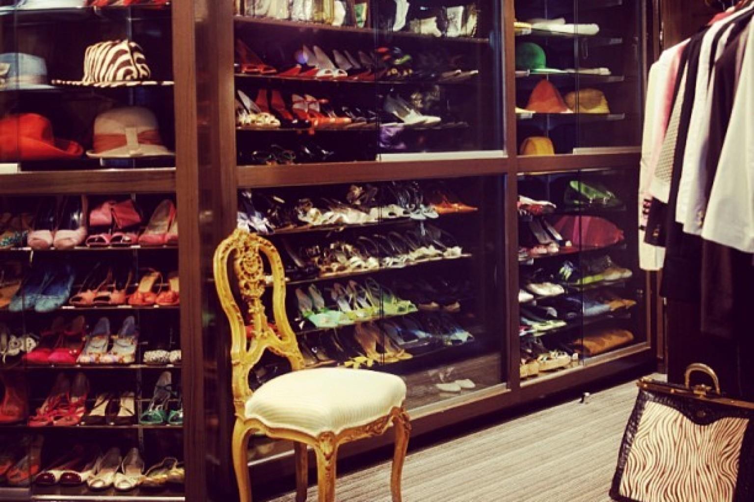 Kelly Wearstler's Jewelry Closet