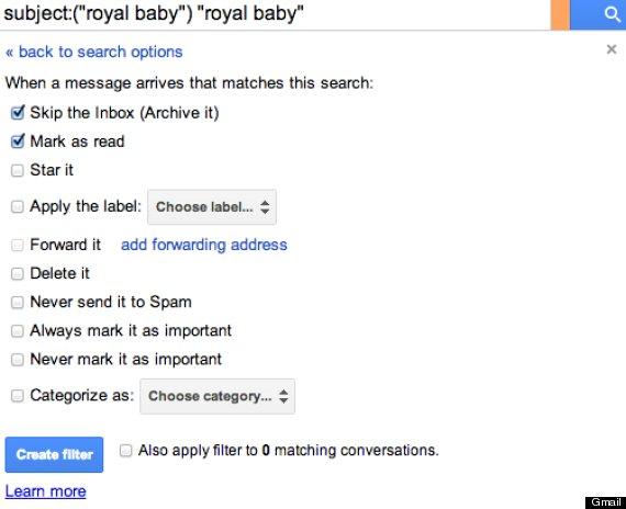 block royal baby