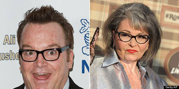 roseanne barr and tom arnold get in twitter fight huffpost