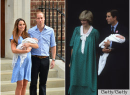 PICS: Kate Middleton's Post-Baby Dress A Nod To Diana