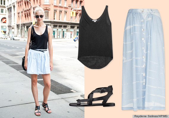 7cb62d3591 10 Summer Street Style Outfit Ideas To Look Hot And Stay Cool ...