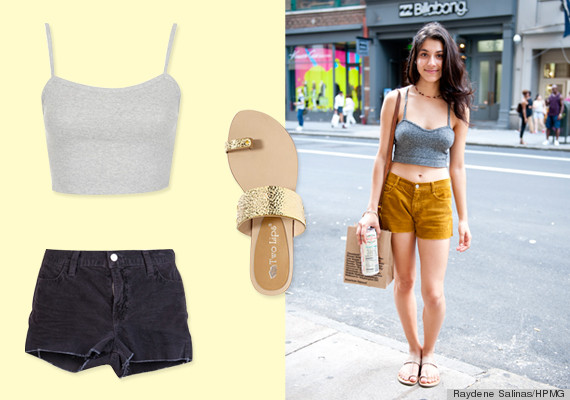 10 Summer Street Style Outfit Ideas To Look Hot And Stay Cool Photos Huffpost