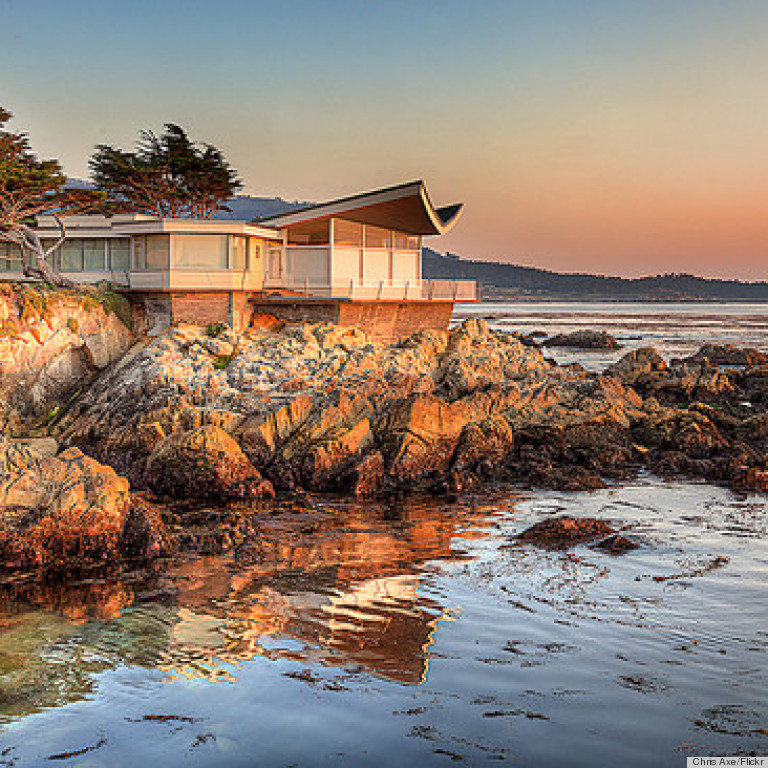 Butterfly House In Carmel California Sits Perched On A