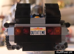 Lego back to the future DeLorean review