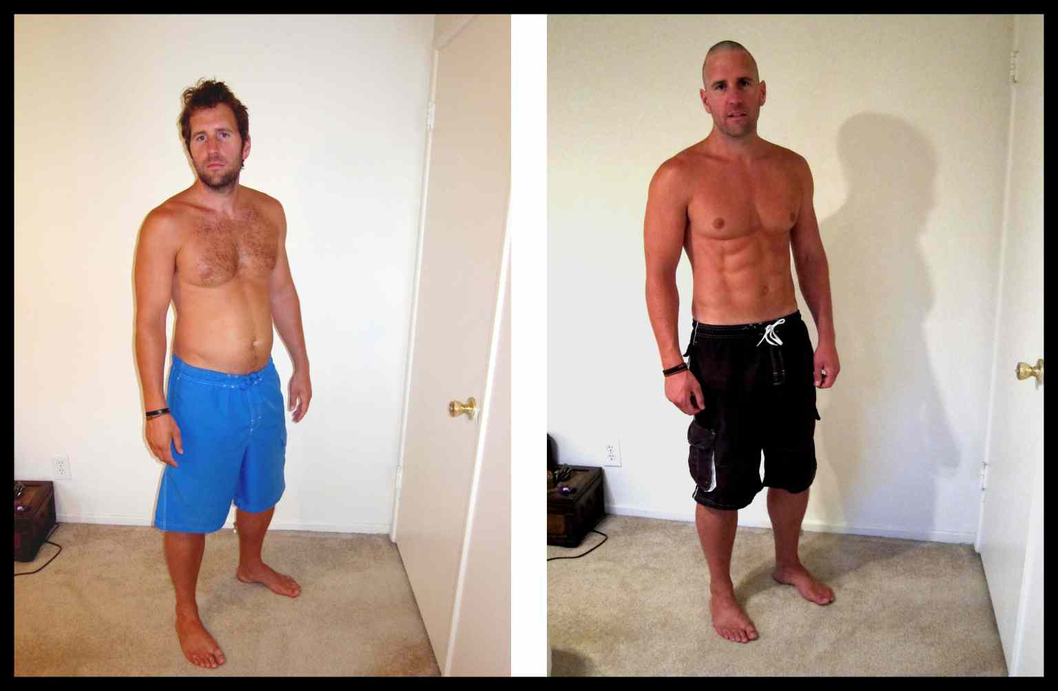 Before and after weight loss nude
