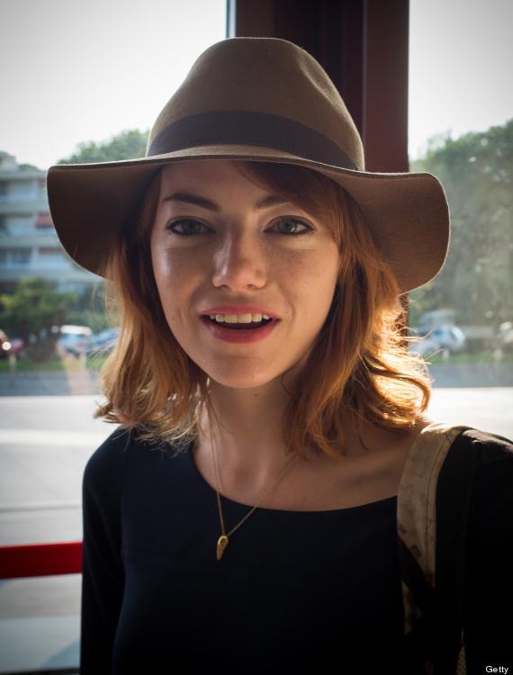 Emma Stone Returns To Red Hair | HuffPost Andrew Garfield Instagram
